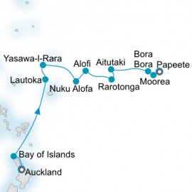 Polynesian Palette Itinerary