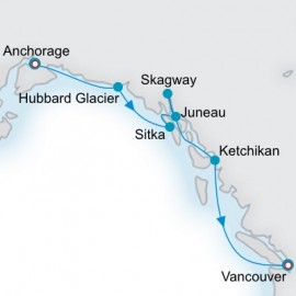 Alaska and the Yukon Crystal Cruises Cruise