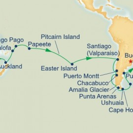 Circle South America Sydney to Buenos Aires Sector Cruise