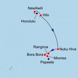 Hawaii and French Polynesia Itinerary