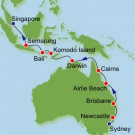 Australia and Southeast Asia Norwegian Cruise Line Cruise