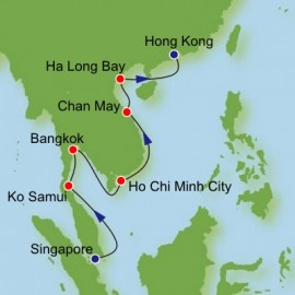 Southeast Asia From Singapore Itinerary