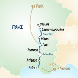 Sensations of Southern France  Itinerary
