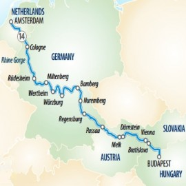 Splendours of Europe  Itinerary
