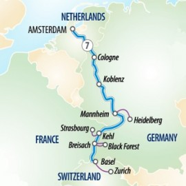 Jewels of the Rhine Itinerary