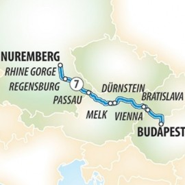 Delights of the Danube River Itinerary