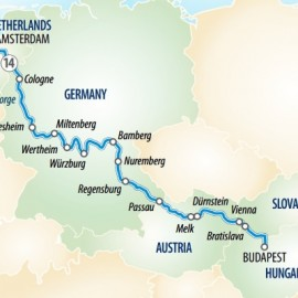 Splendours of Europe River Itinerary