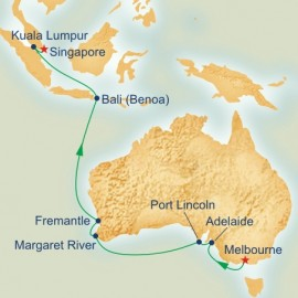 South Australia and Southeast Asia Itinerary