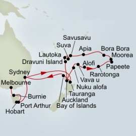 Australia and Pacific Explorer Collector Itinerary