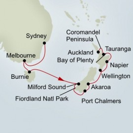 Australia and New Zealand Holiday Itinerary
