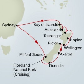 New Zealand Discovery Holland America Line Cruise