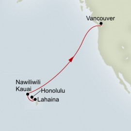 South Pacific Crossing Itinerary