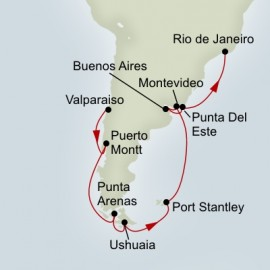 South America Passage Holland America Line Cruise