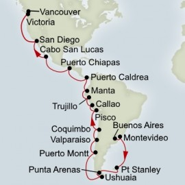 South America and Inca Discovery Itinerary
