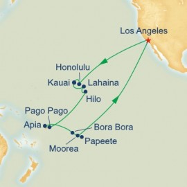 Hawaii Tahiti and Samoa Itinerary