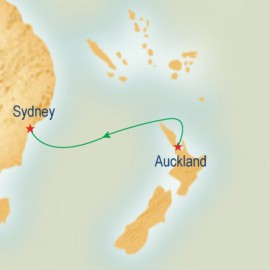 Auckland to Sydney Princess Cruises Cruise