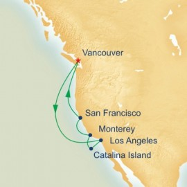 Classic California Princess Cruises Cruise