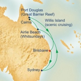 Queensland and The Great Barrier Reef Princess Cruises Cruise