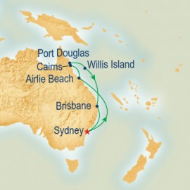 Queensland Princess Cruises Cruise
