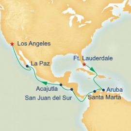 World Cruise Segment Panama Canal Connoisseur Itinerary