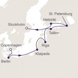 Nordic Splendors Itinerary