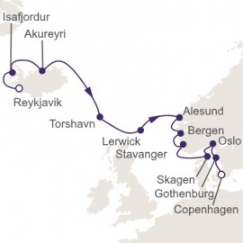 North Sea Coasts Itinerary