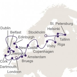 Vikings and Vicars Itinerary