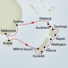 Australia and New Zealand Explorer Holiday Holland America Line Cruise