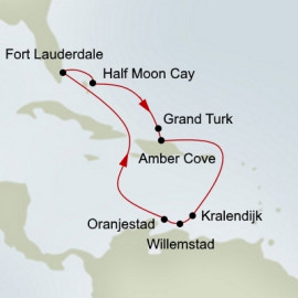 Southern Caribbean Seafarer Itinerary