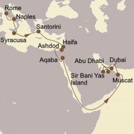 Holy Land and Arabian Gems Itinerary