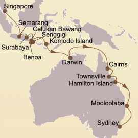 Orchid Isles and Great Barrier Reef Itinerary