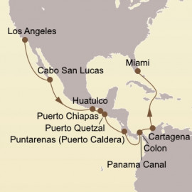 Panama Canal Sojourn Seabourn Cruise