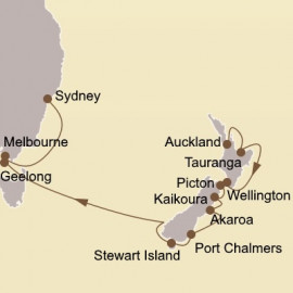 New Zealand and Australia Itinerary