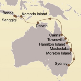 Gold Coast and Great Barrier Reef Seabourn Cruise