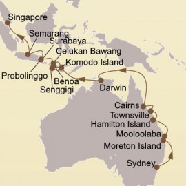Australia and Java Sea Gems Itinerary