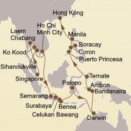 Tropical Asian Isles Exploration Seabourn Cruise