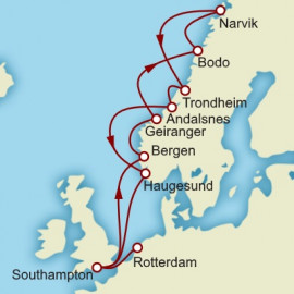 The Fjords Itinerary
