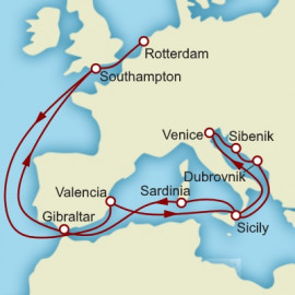 Venice and the Adriatic Itinerary