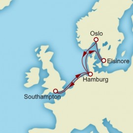 Hamburg and Scandinavia Itinerary