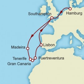 The Canary Islands and Madeira Itinerary