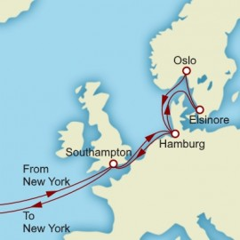 Grand Hamburg and Scandinavia Itinerary
