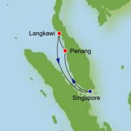 Roundtrip from Singapore Itinerary