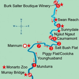Murraylands and Wildlife Captain Cook Cruises Cruise