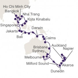 Singapore to Auckland Itinerary