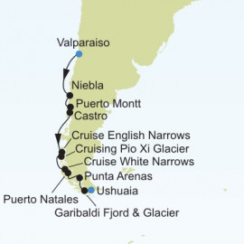 South America Expedition Itinerary