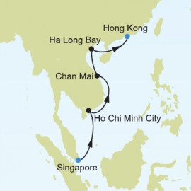 Singapore to Hong Kong Itinerary