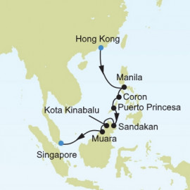 Hong Kong to Singapore Silversea Cruises Cruise