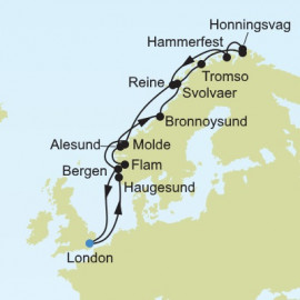 Northern Europe and British Isles Itinerary
