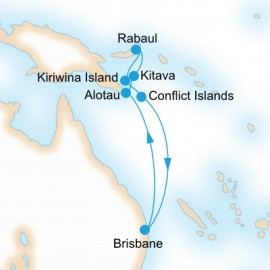 New Guinea Island Encounter Cruise