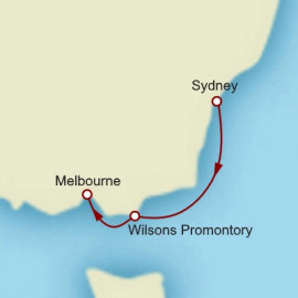 Sydney to Melbourne Cruise